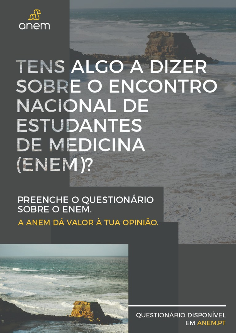 Cartaz do Questionário do ENEM